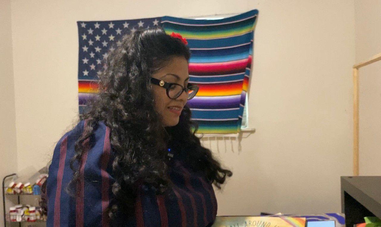 Celinda De La Fuente appears in this image from July 2021. (Spectrum News 1/Jose Arredondo)