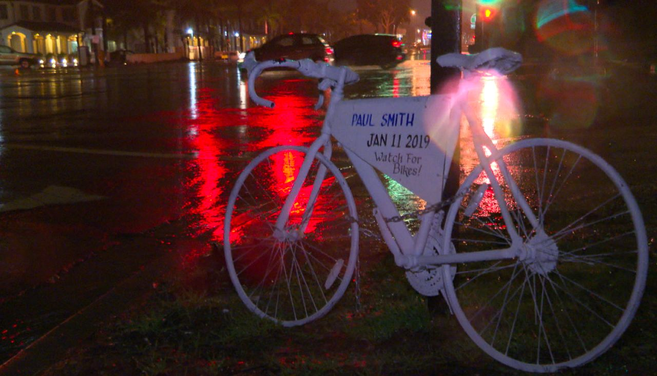 Ghost Bikes' Serve as Memorial for Cyclists