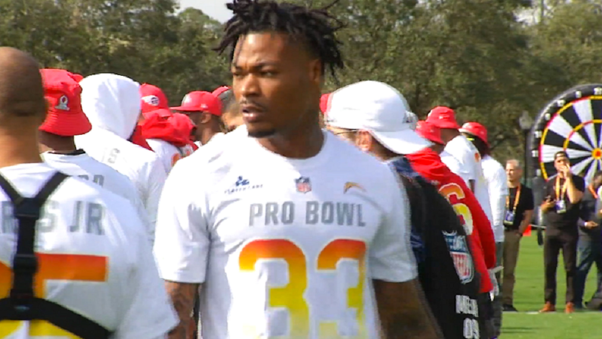buy online 43097 fbb80 Derwin James draws from his Polk County upbringing