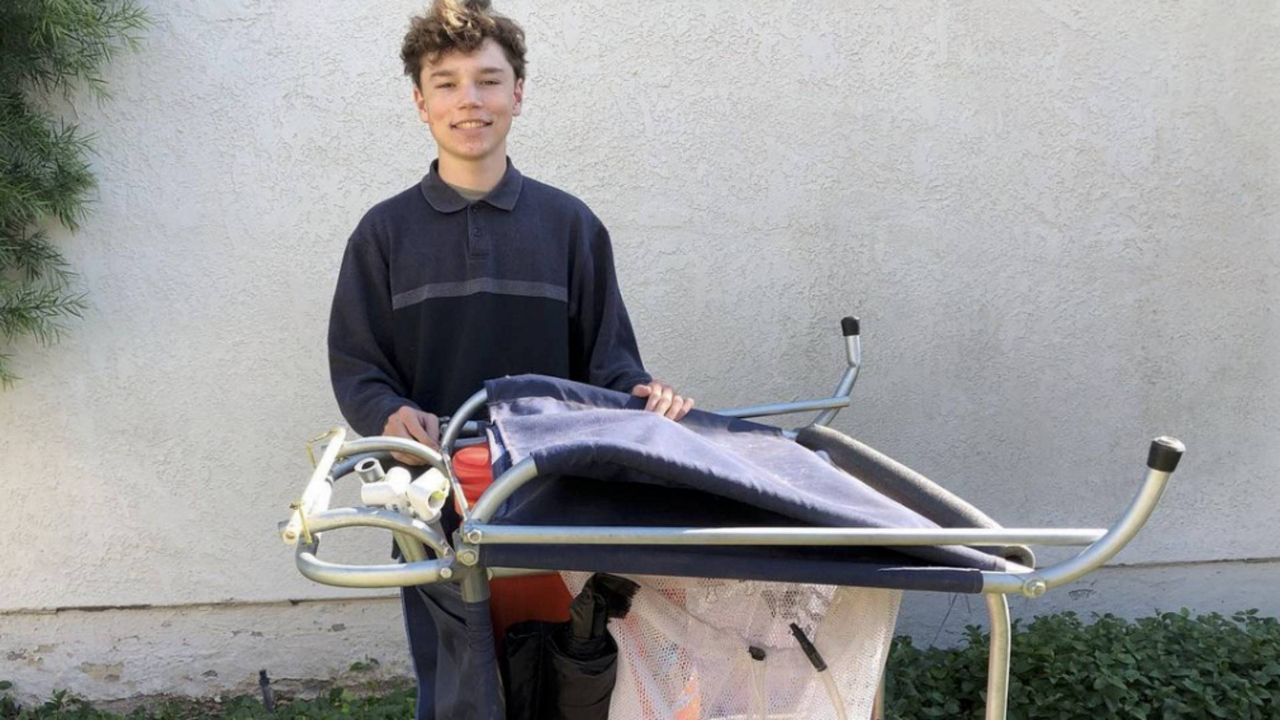 Teen Designs Portable Home to Help the Homeless