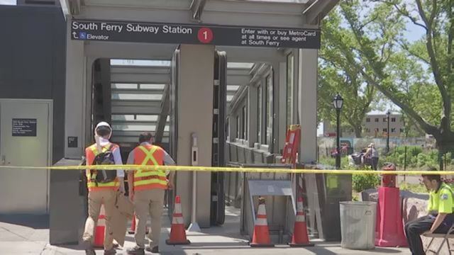 south ferry subway station reopens to eager riders