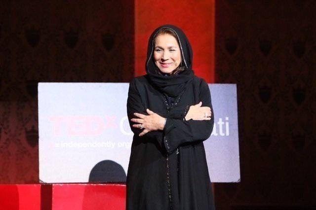 Shakila T. Ahmad speaks at a TED Talk in Cincinnati, Ohio (Provided)