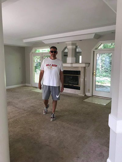 Mark Slaughter touring a home with his wife (Photo credit: Mark Slaughter)