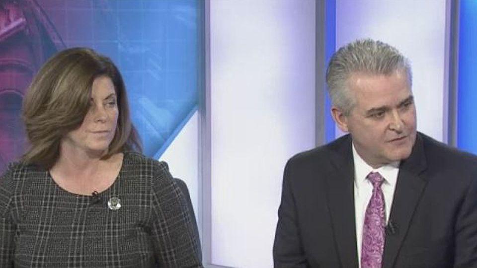 Fiery debate between Rensselaer County exec candidates