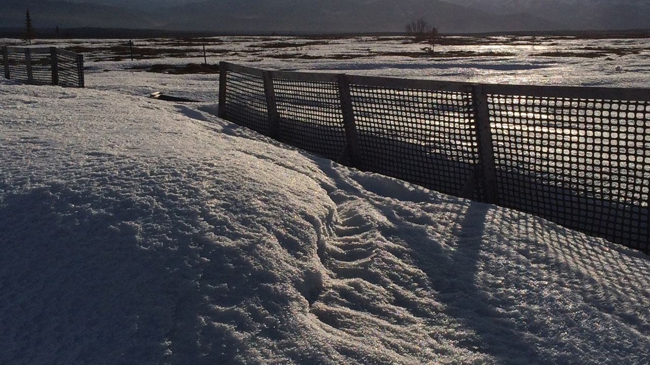 How Does A Snow Fence Work?