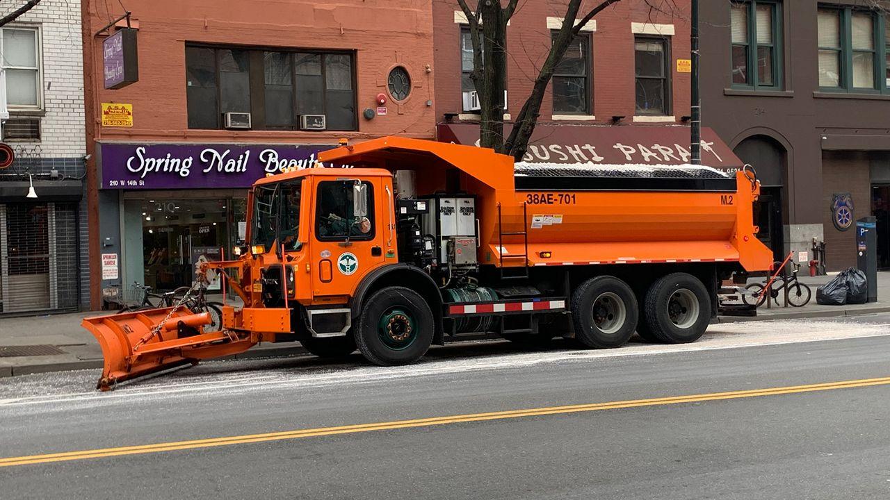 Medidas municipales contra tormenta de nieve en Nueva York