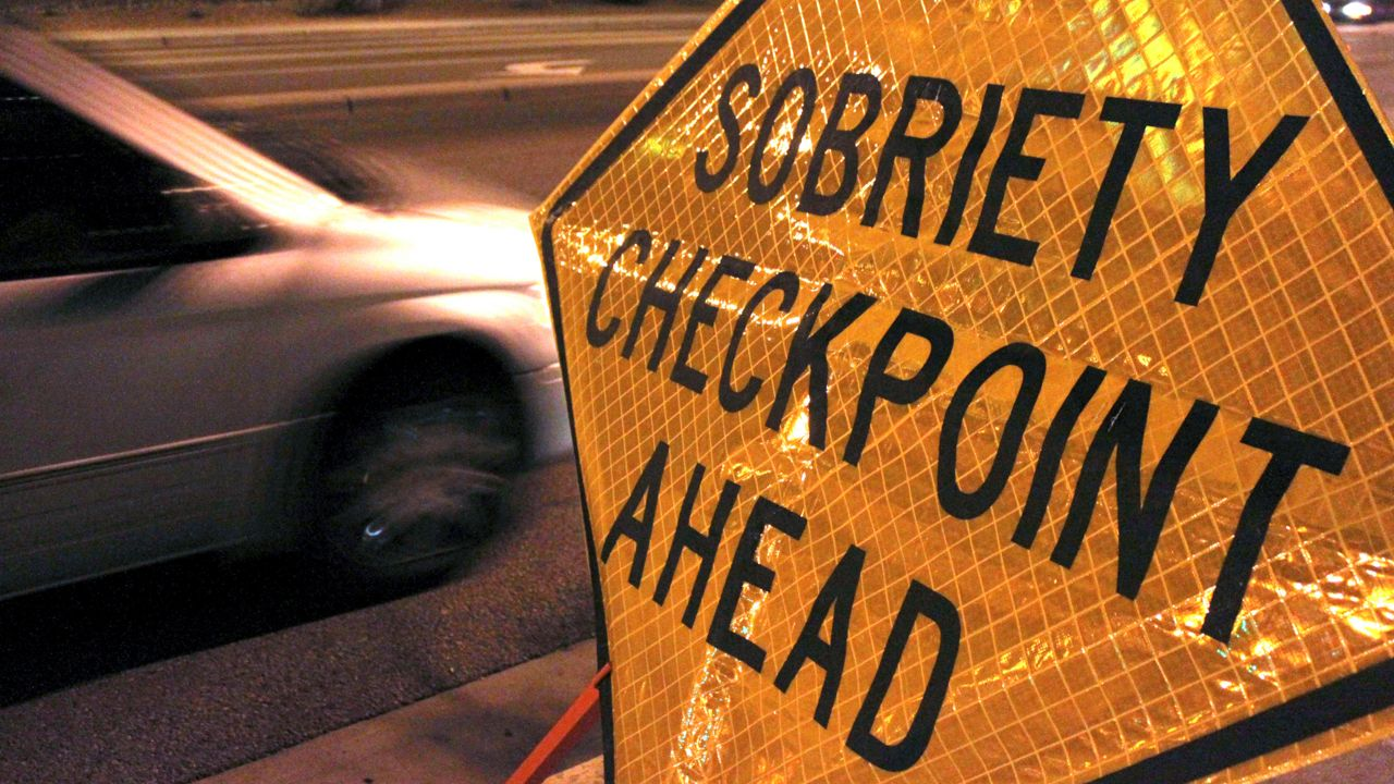 DWI Checkpoints Set Up Statewide for Fourth of July Weekend