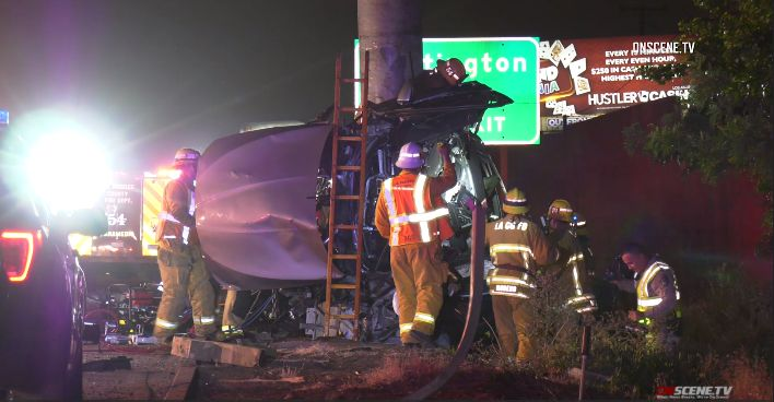 Four Killed in Crash on 710 Freeway in South Gat