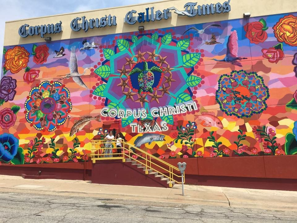 Sandra Gonzalez's mural in Corpus Christi (Sandra Gonzalez)