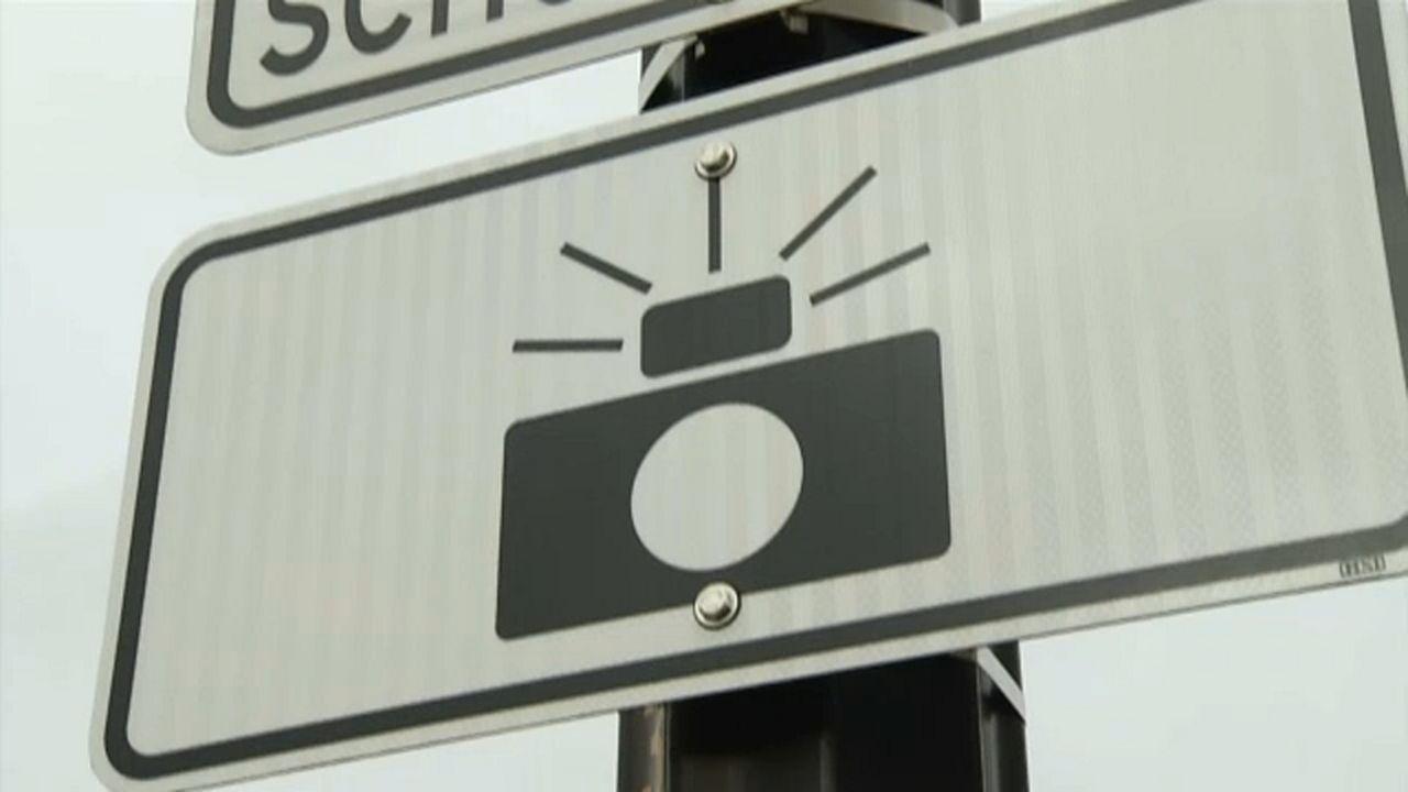 Buffalo school speed zone cameras coming down September 1