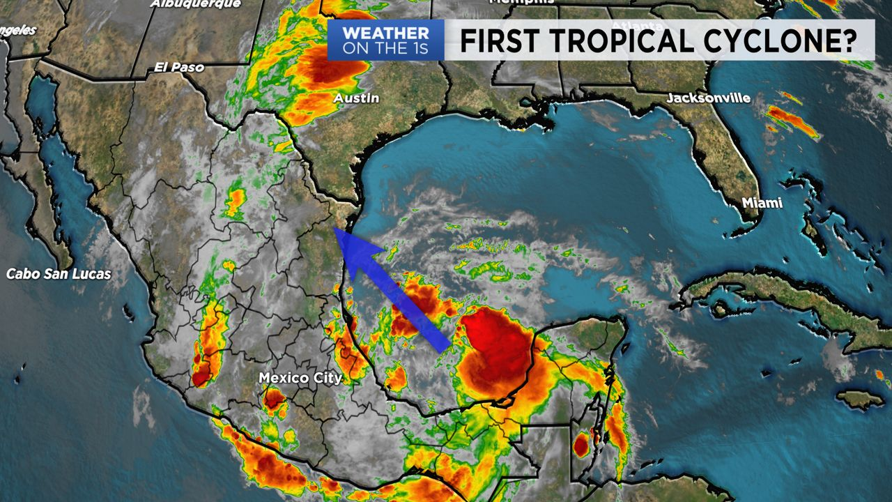 Tropical Cyclone Trying to Take Shape In Gulf of Mexico