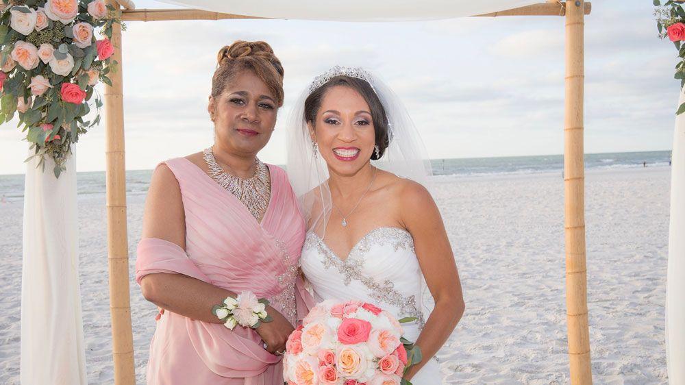Reporter Stephanie Claytor shared this photo of her mom, Pamela. (Stephanie Claytor, Spectrum News)