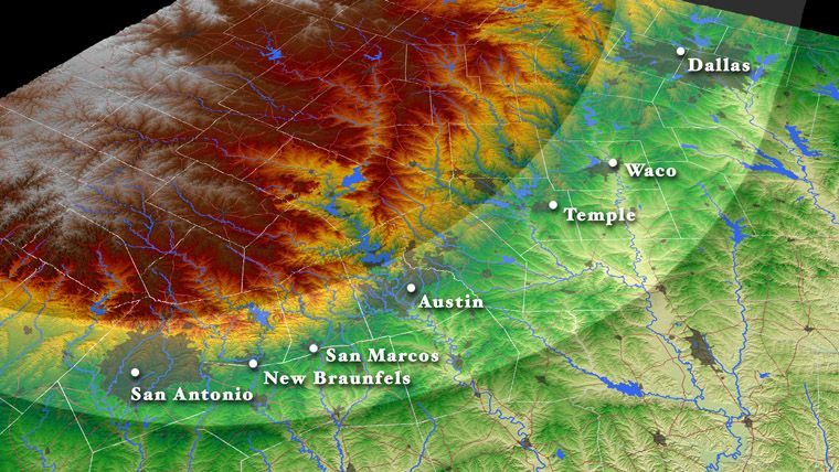 15 Years Ago Today: Historic Texas Flood on watershed map, houston flood map, tampa bay flooding map, austin flood damage map, katy flooding map, manhattan flooding map, pensacola flooding map, sioux falls flooding map, colorado flooding map, texas flood zone map, brazos river flooding map, prone flooding texas map, harris county flooding map,