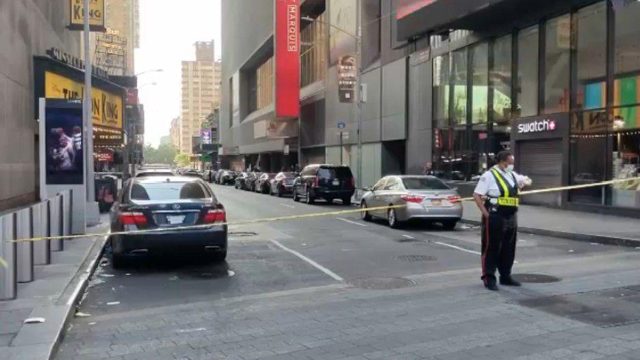 NYPD: tiroteo en Times Square deja a un sujeto herido