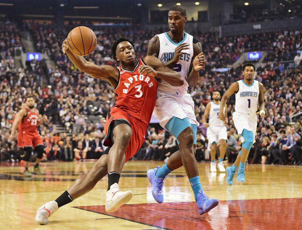 Anunoby Scores Career High 24 Raptors Beat Hornets 132 96