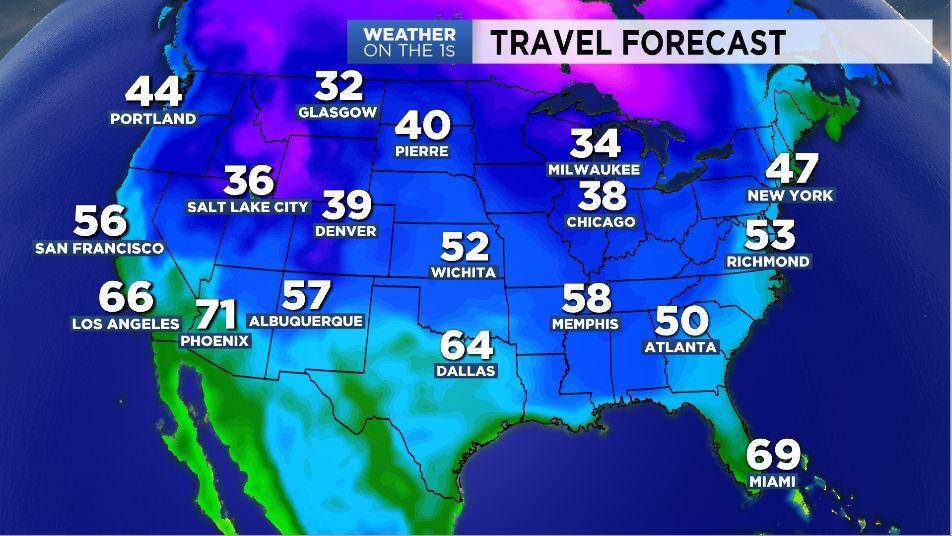 Wisconsin Saturday Forecast