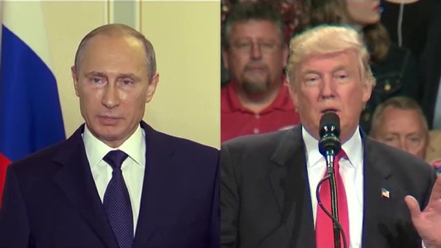 trump and putin relationship with us