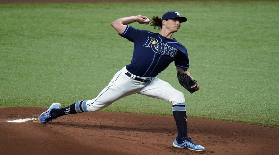 glasnow records 13 strikeouts as rays beat orioles 4 2 strikeouts as rays beat orioles