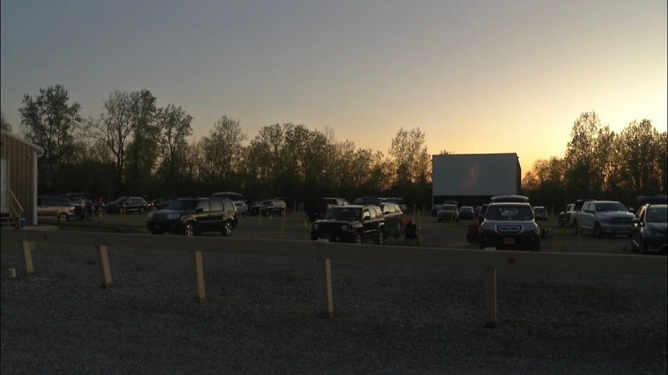 Avon Drive In Theater Re Opens To Large Crowd