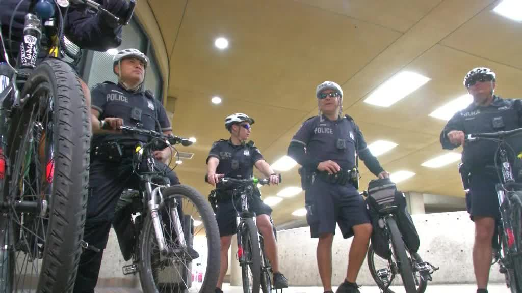 SAPD Bike Patrol Roll Out Body Cams