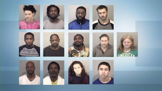 13 Arrested in Stanly County Drug Bust
