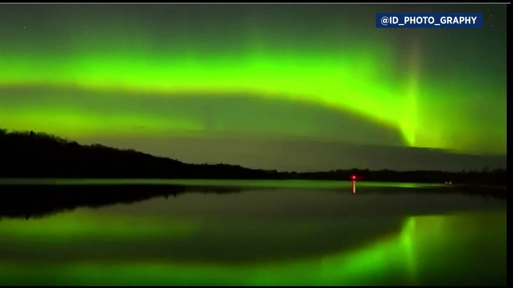 Geomagnetic Storm Coming, Northern Lights Shine Bright