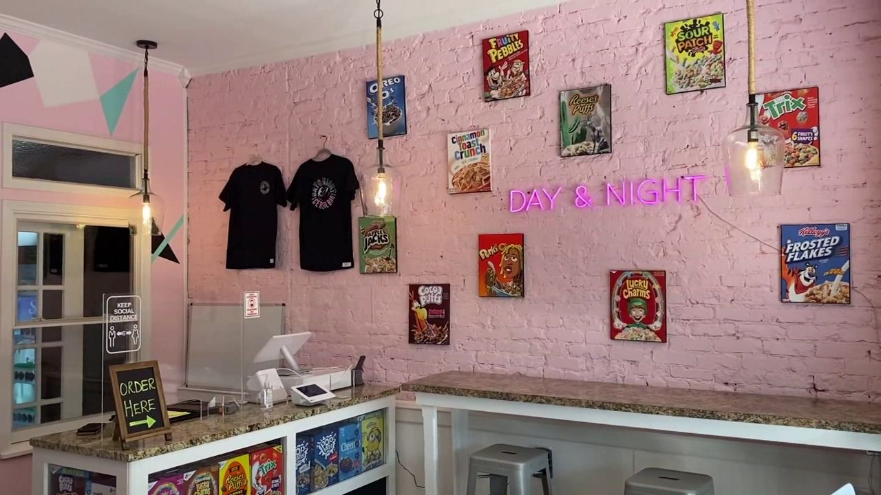 Cereal bar brings Saturday morning nostalgia by the spoon full