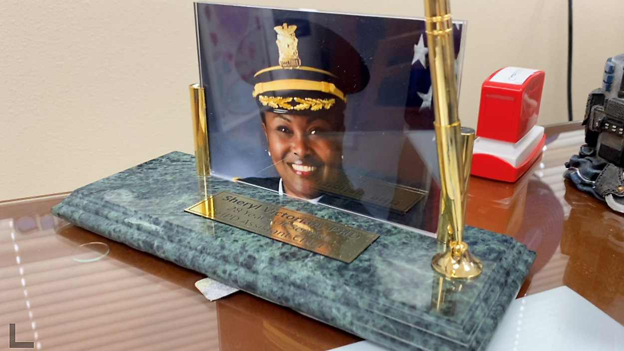 Sheryl Victorian Sworn in as Waco's First Female and First African American Chief of Police