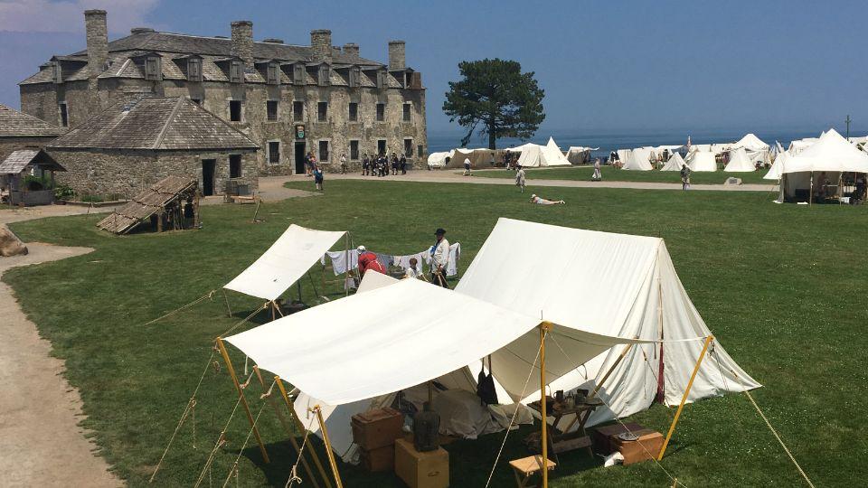Historical Reenactments at Old Fort Niagara