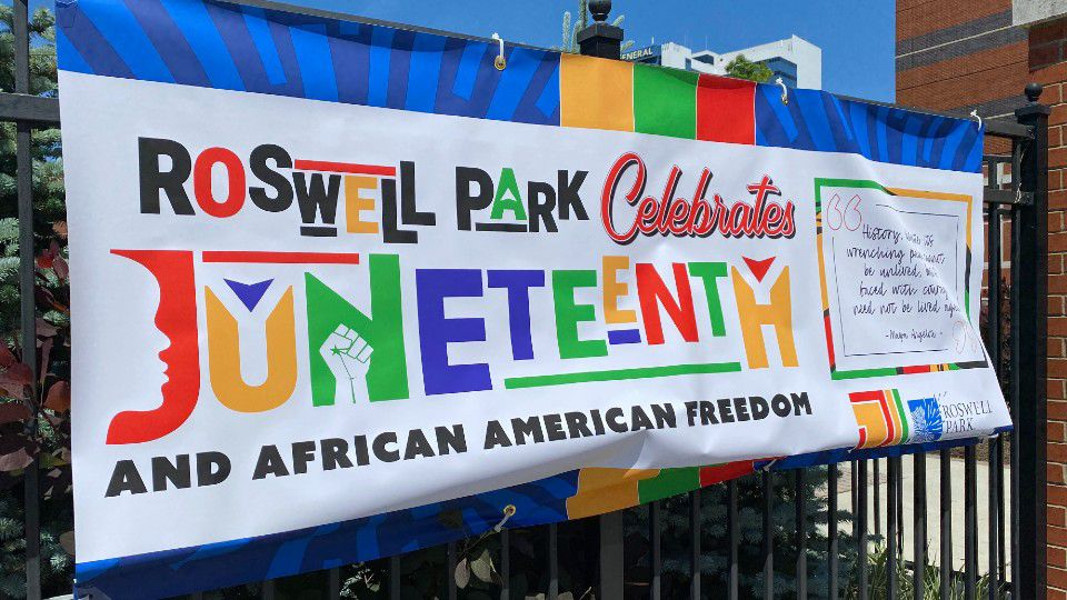 Roswell Park celebrates Juneteenth on historic day