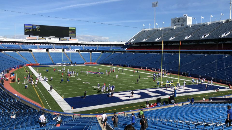 Considers Plan For Fans At Bills Game That Could Be A Model