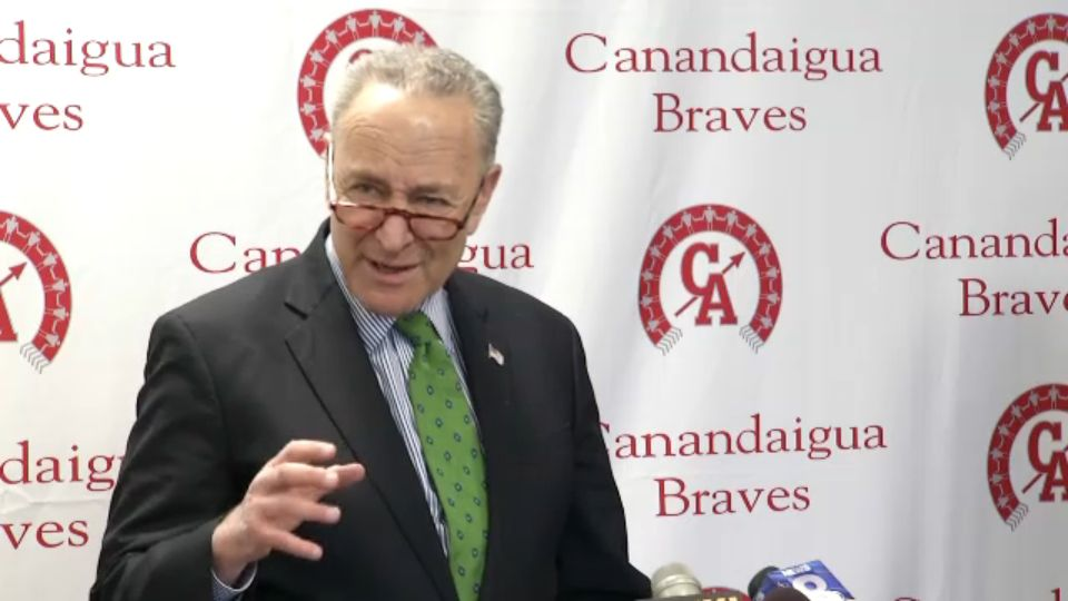 Schumer, in Canandaigua, takes aim at online blackmail