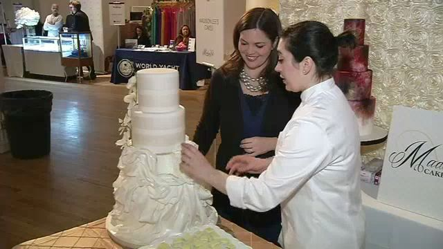 The Business Of Marriage Slicing The Cost Of Gown And Cake