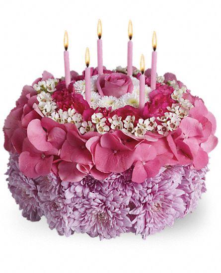 Birthday Cake Flowers Teleflora