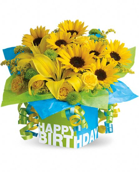 Think Teleflora For Birthday And Anniversary Gifts