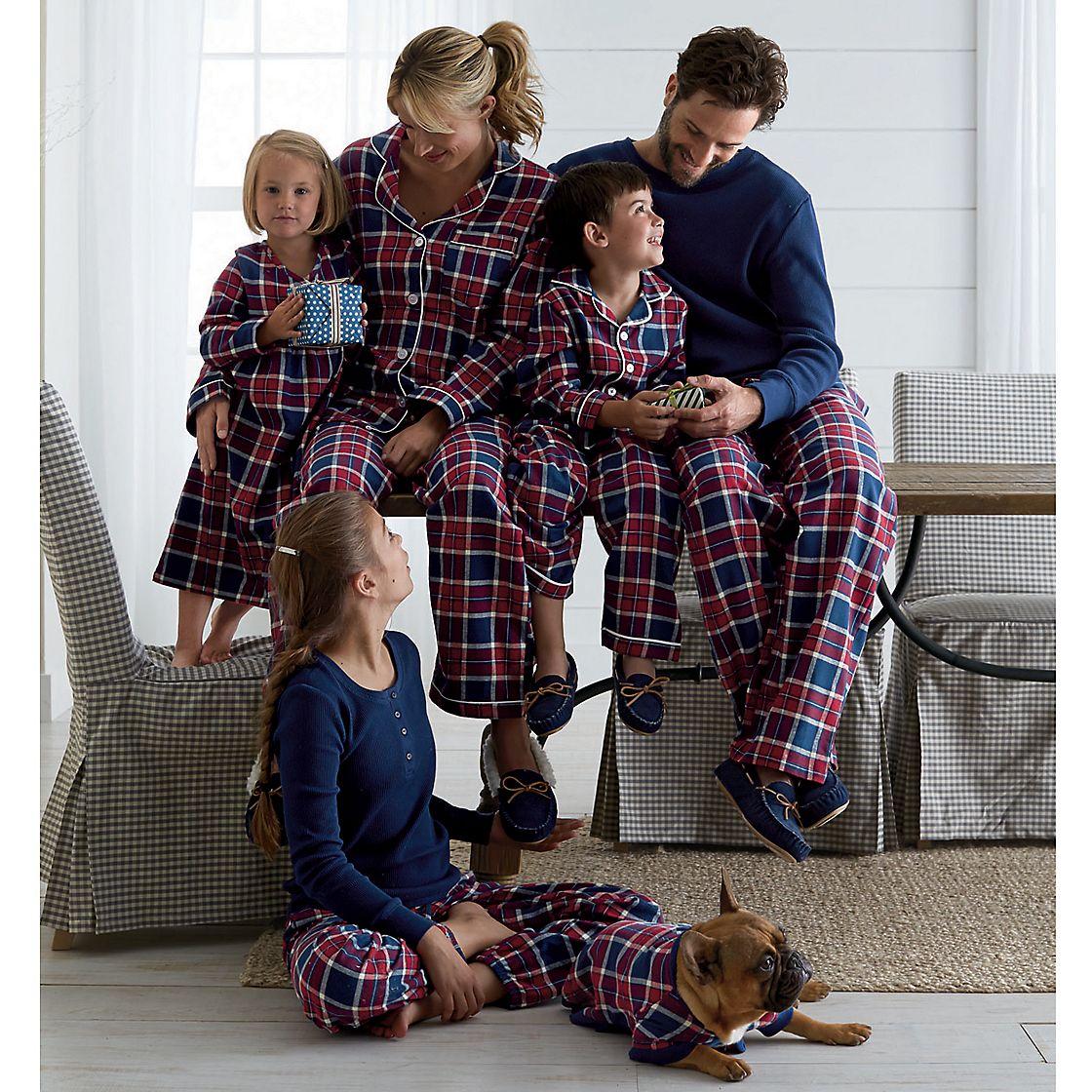Matching Family Pajamas Glenwood Plaid The Company Store