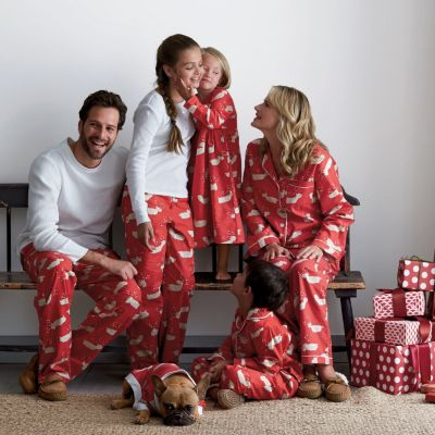 Matching Family Pajamas Deer Me The Company Store