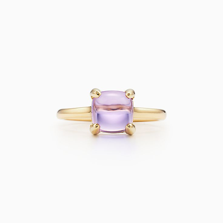 b172b7699 ... new palomas sugar stacks ring in 18k gold with a lavender amethyst. tiffany  co. paloma picasso 1.00ct blue topaz ...