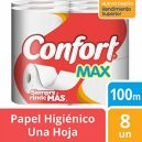Papel Higiénico Hoja Simple Max