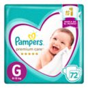 Panal Premium Care  Pampers G