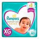 Panal Premium Care  Pampers Xg