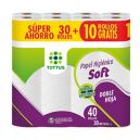 Papel Higienico Soft 30Mts