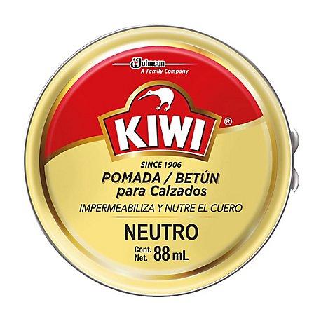 897088ec Kiwi Pasta Neutral x88ml. KIWI. Envase 88 ml
