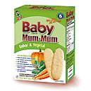 Galletas de Arroz Baby Mum Vegetal