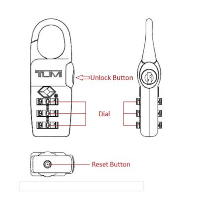 Setting your TUMI Lock - Tumi United States
