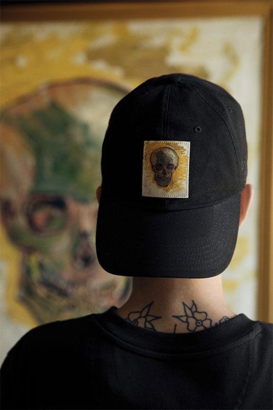 Cappellino Vans x Van Gogh Museum Skull