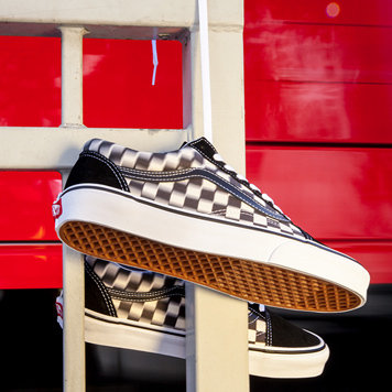 Vans blurs the lines with new checkerboard assortment