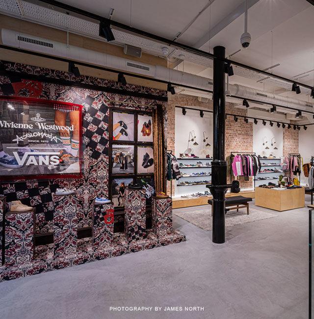 Enjoyable Vans Covent Garden Boutique Vans Store London Vans Uk Inzonedesignstudio Interior Chair Design Inzonedesignstudiocom