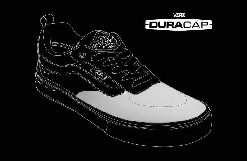 89f67008c2 UltraCush. The added DURACAP reinforcement rubber underlays in high-wear  areas are engineered to withstand the abuse of the Vans Pro Skate team