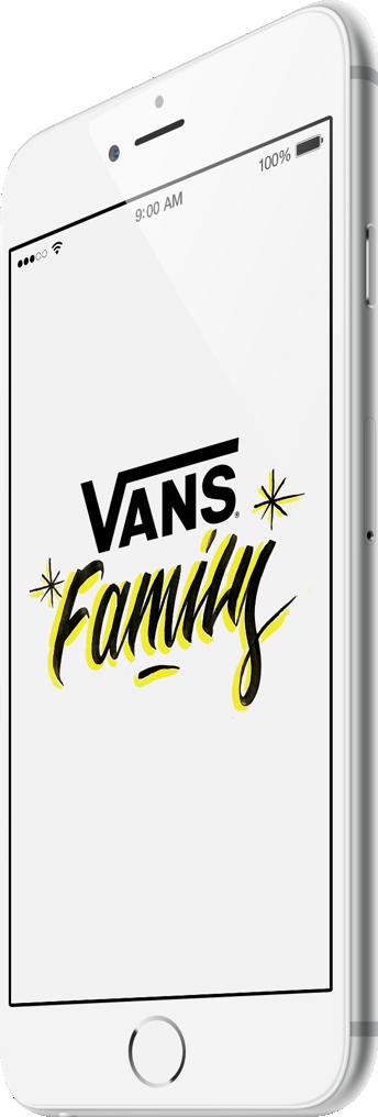 Join the Vans Family!